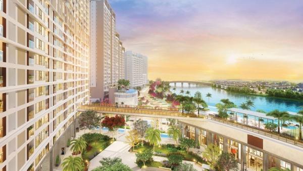 Phối cảnh một góc dự án The Peak – Phú Mỹ Hưng Midtown