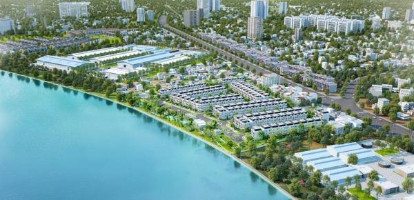 Phối cảnh tổng thể dự án Solar City