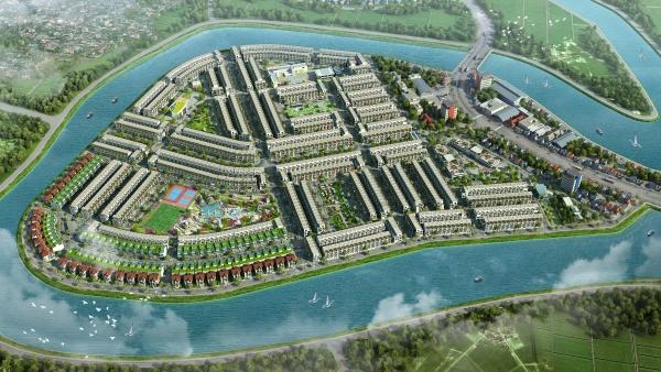 Phối cảnh tổng thể dự án khu đô thị TNR Stars Diễn Châu