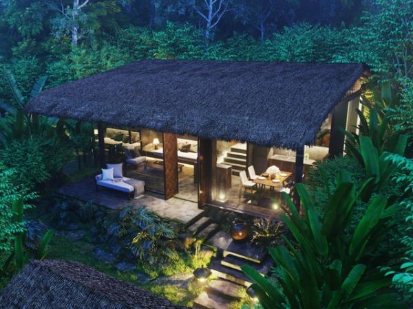 Phối cảnh căn biệt thự Casa Garden Hill Phú Quốc