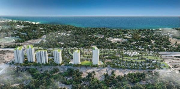 Phối cảnh dự án khu nghỉ dưỡng Summer Land Mũi Né