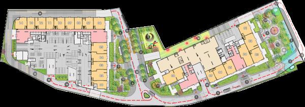 Phối cảnh tổng thể dự án căn hộ Opal Boulevard Bình Dương