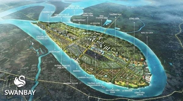 khu đô thị nghỉ dưỡng Swanbay Nhơn Trạch