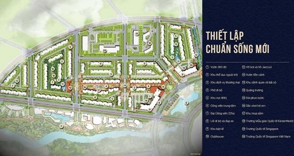 tiện ích nội khu dự án Le Centre Swanbay Nhơn Trạch