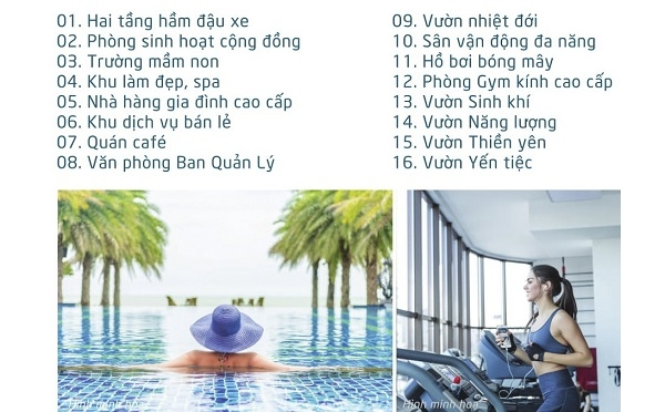 tiện ích nội khu Căn hộ Saigon Asiana Quận 6