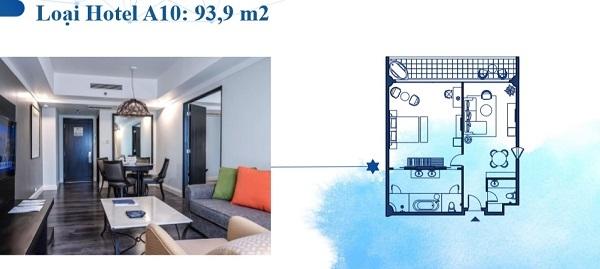 Thiết kế chi tiết hotel loại A10 93,9 m2