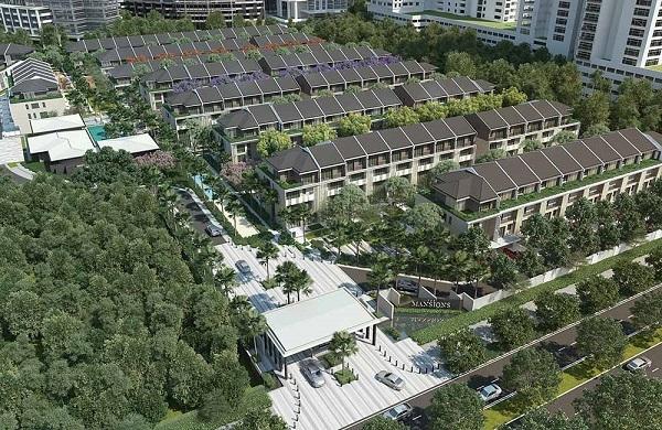 Khu biệt thự The Mansions Hà Nội