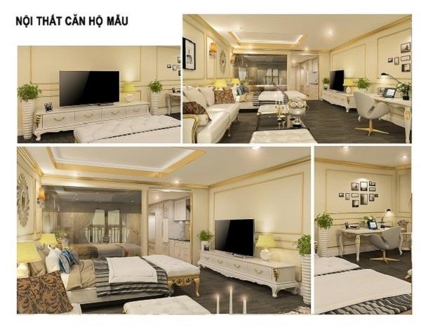 Nội thất căn hộ mẫu tại dự án Hội An Golden Sea