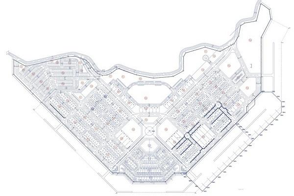 Mặt bằng tổng thể dự án căn hộ du lịch và khách sạn Peninsula