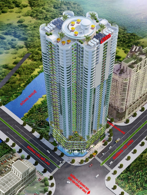 Tổ hợp thương mại, dịch vụ QMS Tower 2 Hà Nội