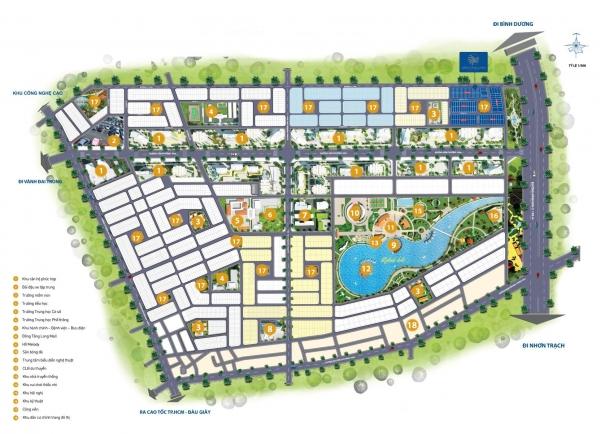 Dự án nhà phố Đông Tăng Long An Lộc Quận 9 - CafeLand.Vn