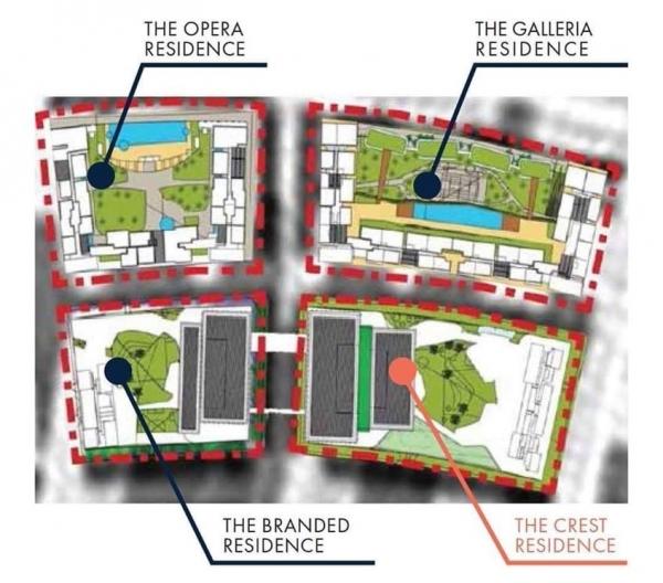 Dự án Khu phức hợp nhà ở, thương mại The Metropole Thủ Thiêm Quận 2