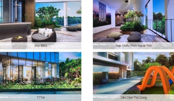 Tiện ích dự án căn hộ Mozac Thảo Điền Quận 2