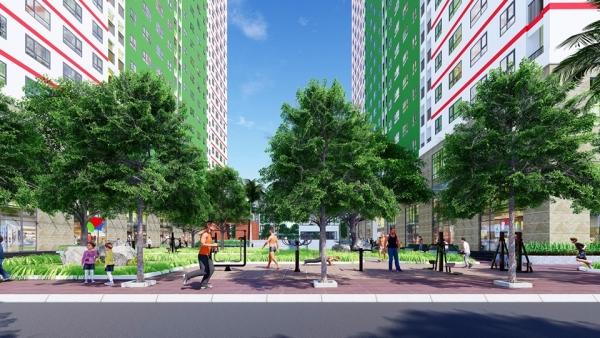 Tiện ích nhà ở xã hội IEC Residences Hà Nội