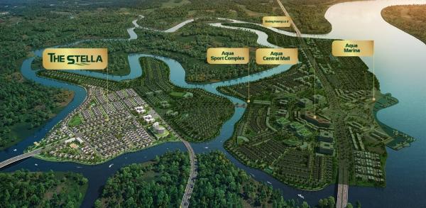 Phân khu The Stella dự án aqua city đồng nai