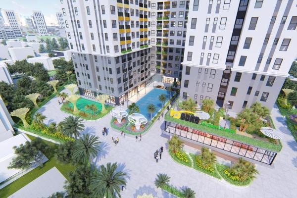 Tiện ích căn hộ Bcons Green View Bình Dương