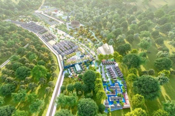 Quy mô dự án đất nền Hồ Tràm Riverside Bà Rịa Vũng Tàu