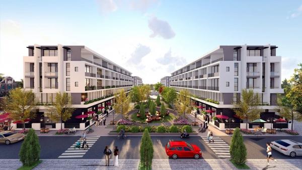 Nhà phố thương mại Bình Minh Garden Long Biên
