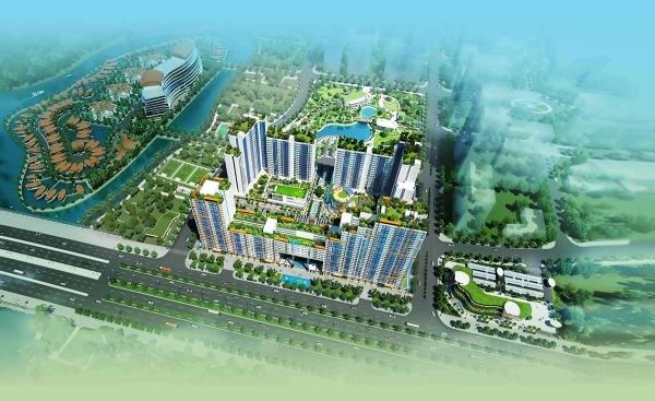 Tổng thể dự án căn hộ New City Thủ Thiêm