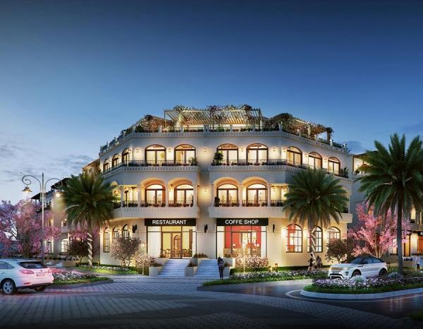 Biệt thự Palm Garden Shop Villas Phú Quốc - Phú Quốc Marina
