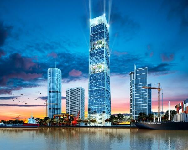 Tổ hợp thương mại, dịch vụ FLC Diamond 72 Tower Hải Phòng