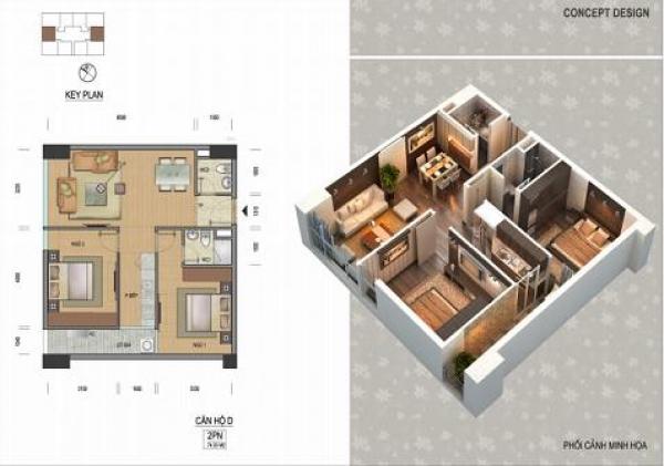 SkyView Phương Thành: Căn hộ cao cấp nơi trung tâm Thủ đô