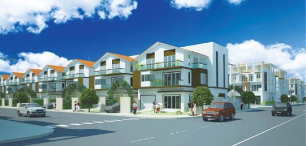 Làng biệt thự và phố thương mại G Villas & Town