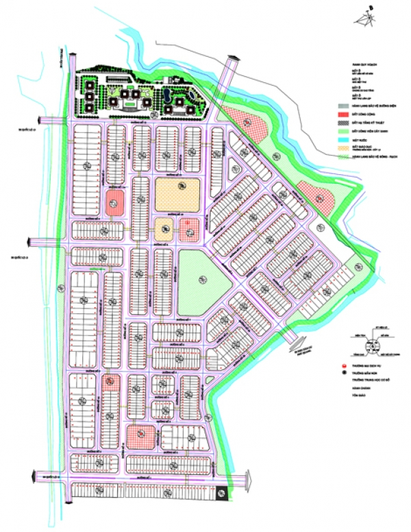 Vĩnh Phú 2: Khu dân cư bên dòng Rạch Miễu