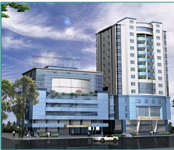 Sông Đà 19 Tower: Tổ hợp căn hộ, thương mại tại Ngũ Hành Sơn