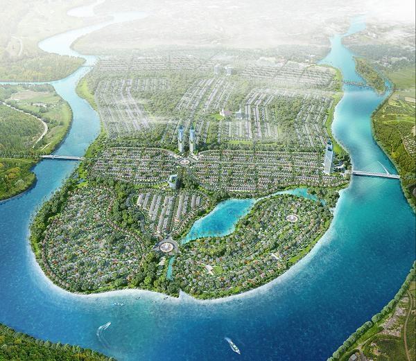 : KhThe Sun City – Ecolslandu đô thị sinh thái tại bán đảo Hòa Xuân