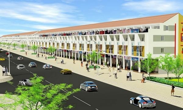 The IJC Commercial Town: Nhà phố thương mại