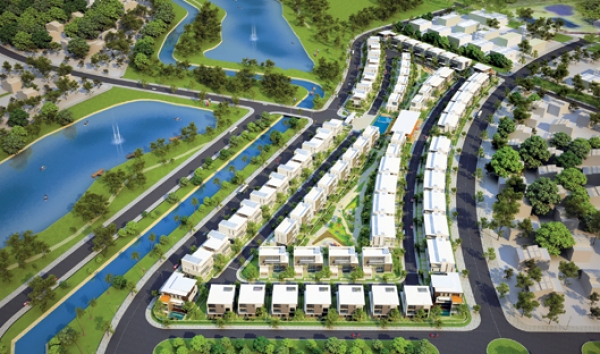Lakeview Villas: Biệt thự ven hồ Thành phố mới Bình Dương