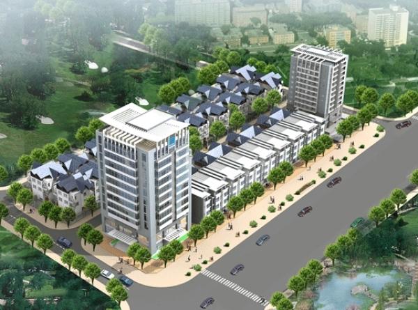 Tổ hợp căn hộ, nhà liền kề Khu nhà ở Nghi Phú