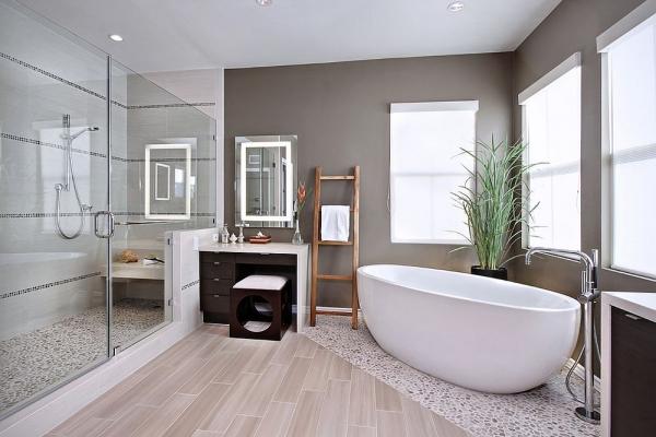Thiết kế phòng tắm sang trọng cho nhà hiện đại