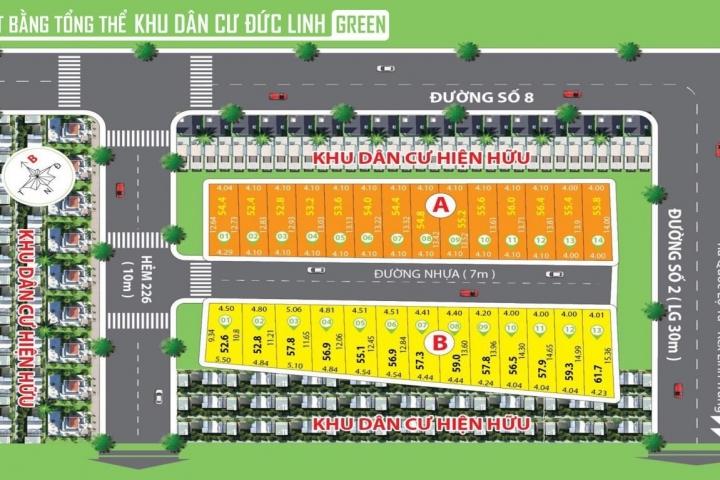 Khu dân cư Đức Linh Green Thủ Đức - CafeLand.Vn