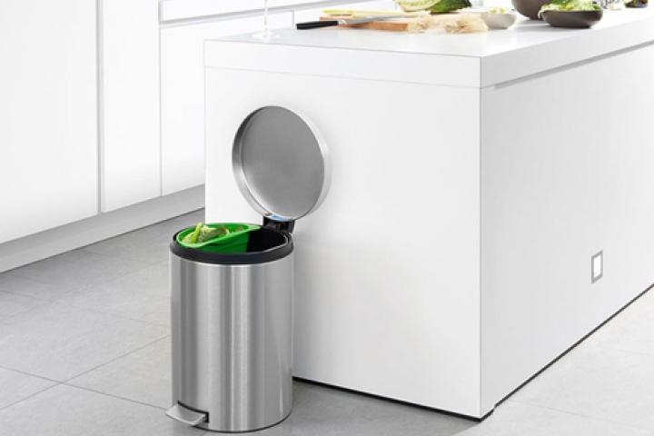 Bố trí thùng rác hợp phong thủy - CafeLand.Vn