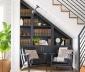 Thiết kế thư viện tại nhà cho không gian nhỏ
