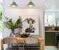 Phòng ăn nhỏ theo phong cách Scandinavian tinh tế