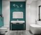 Phòng tắm nhỏ biến đổi với 21 phong cách thiết kế